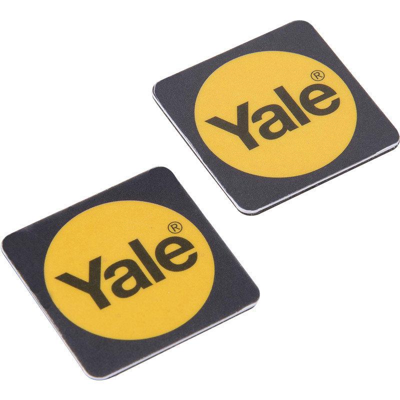Yale Smart Door Lock Black Phone Tag - Pack of 2