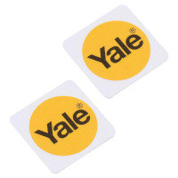 Yale Phone Tag - Retail - Rfid Tag - White (pack Of 2)