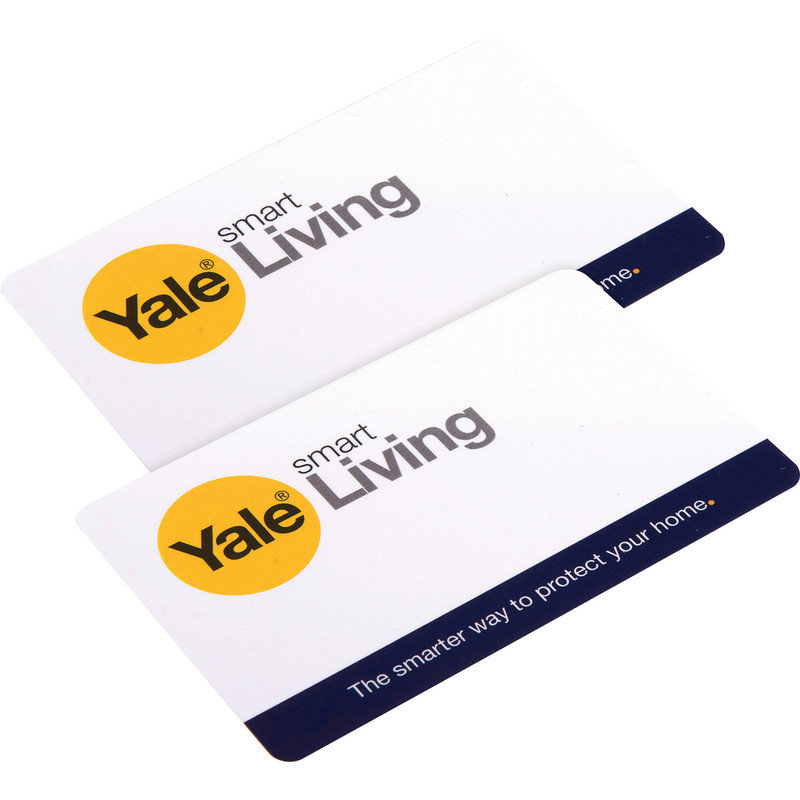 Yale Key Card - Rfid Tag (pack Of 2)