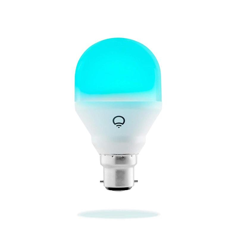 Image of LIFX Mini Colour and White Wif-Fi Smart LED Light Bulb B22