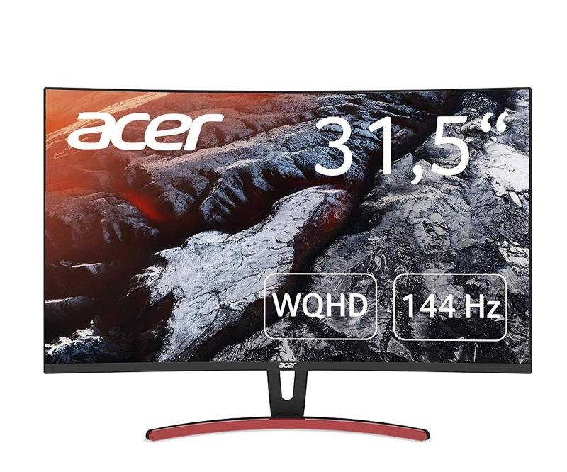 "Acer ED323QURA 32"" QHD HDMI FreeSync Curved Gaming Monitor"