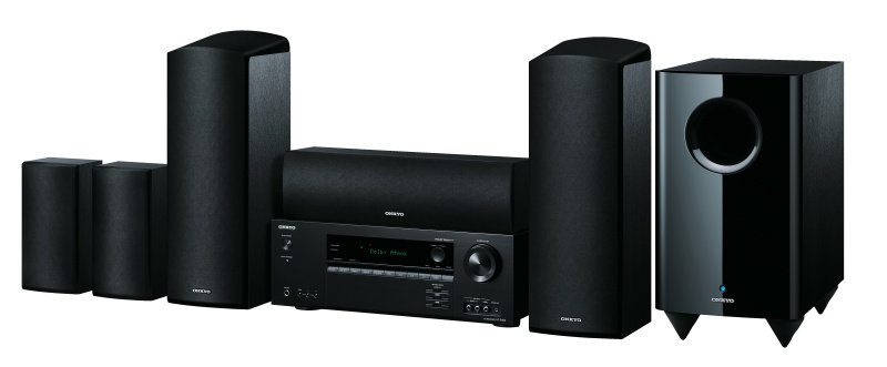 EXDISPLAY Onkyo  5.1.2 Channel Dolby Atmos Home Cinema Package - Black