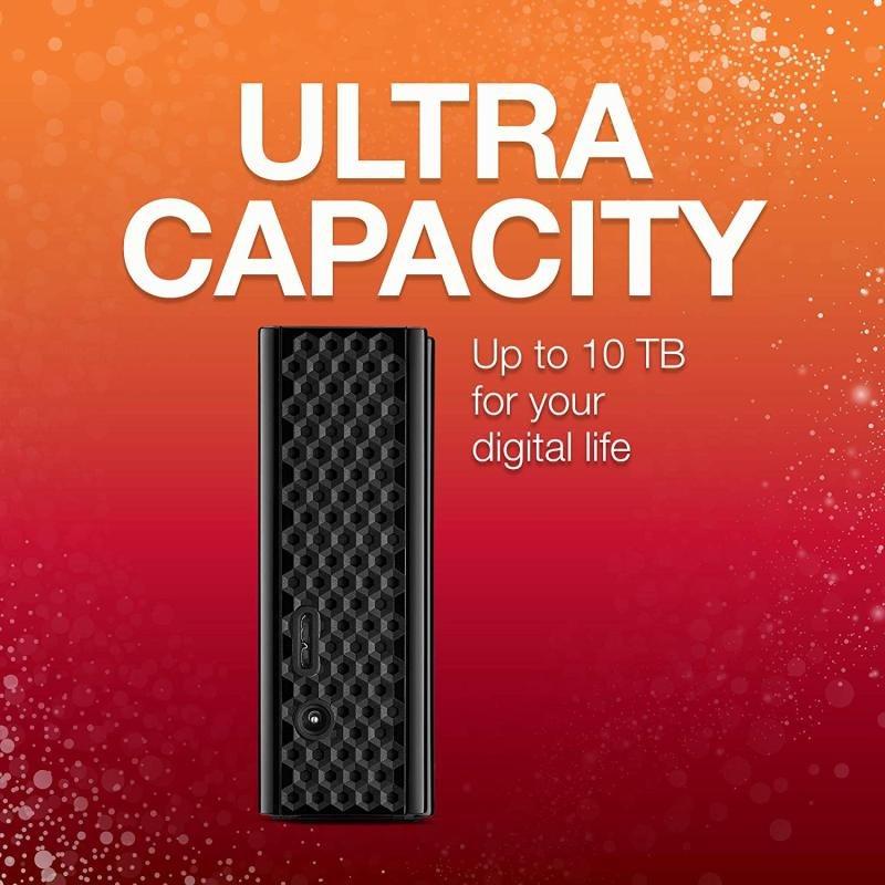 Seagate Backup Plus Hub 4TB External Hard Drive