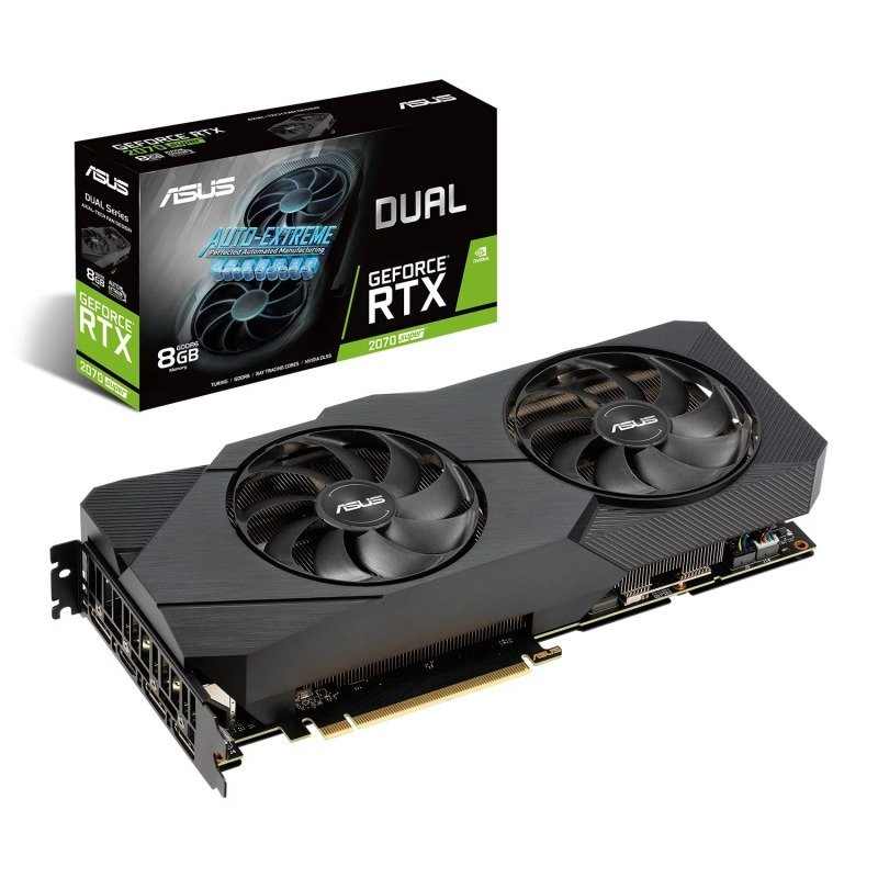 ASUS GeForce RTX 2070 SUPER 8GB DUAL EVO Graphics Card