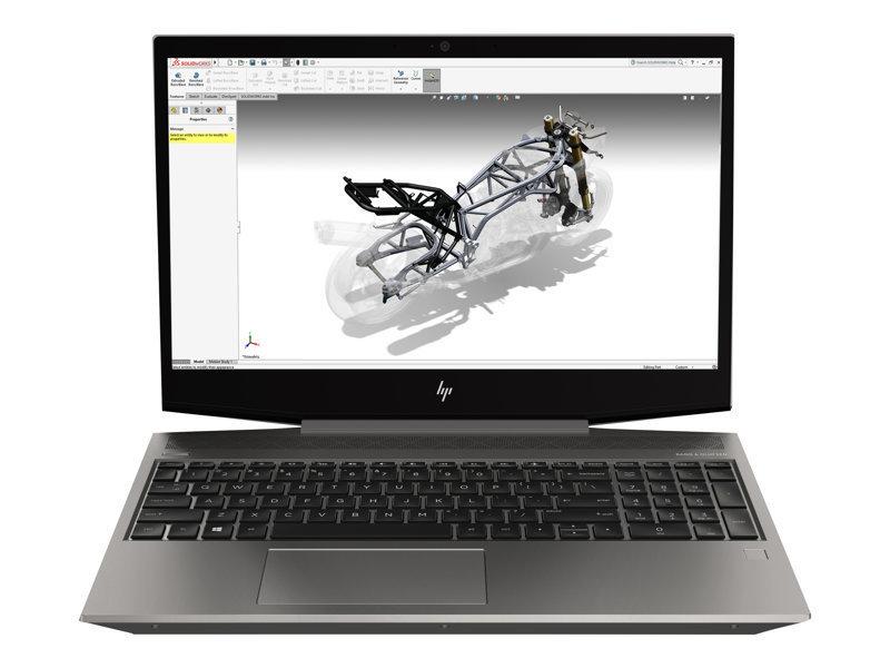 HP ZBook 15v G5 Core i7-8850H 16GB 512Gb SSD Quadro P600 Win10 Pro Mobile Workstation