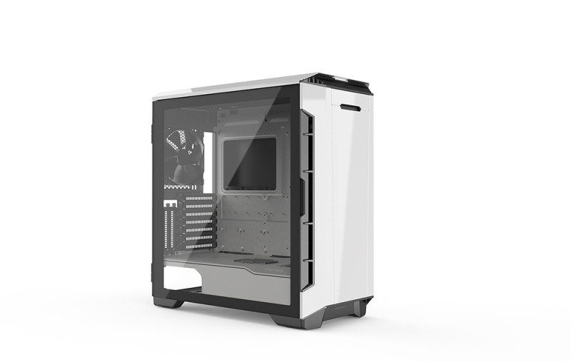 Phanteks Eclipse P600S Glass Silent Midi Tower Case - White