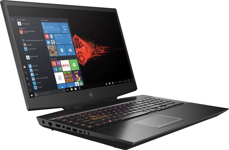 """OMEN by HP Core i7 16GB 1TB HDD 512GB SSD RTX 2060 17.3"""" Win10 Home Gaming Laptop"""