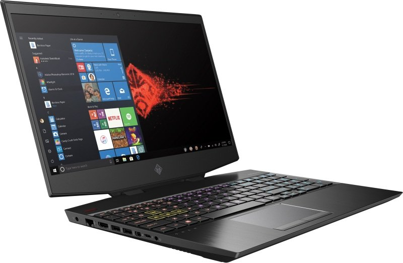 "OMEN by HP Core i7 8GB 512GB SSD GTX 1660Ti 15.6"" Win10 Home Gaming Laptop"