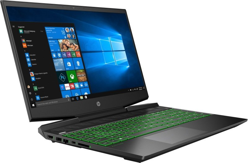 "HP Pavilion Gaming Core i7 8GB 512GB SSD GTX 1660Ti 15.6"" Win10 Home Gaming Laptop"