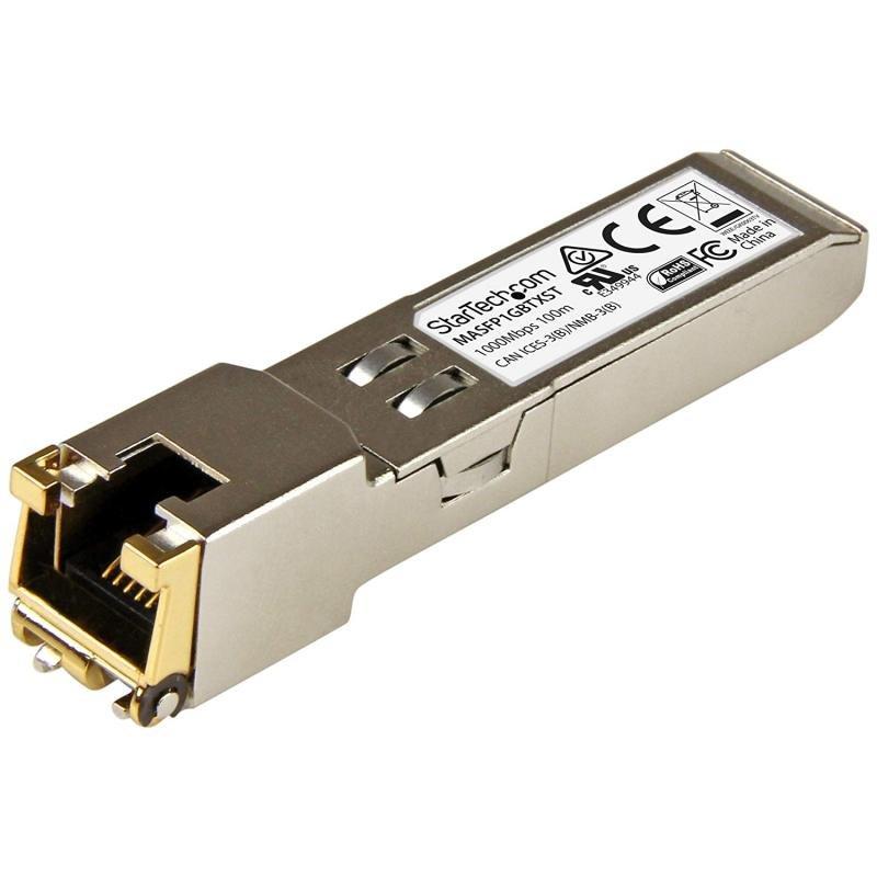 StarTech Cisco Meraki MA-SFP-1GB-TX Compatible SFP Transceiver Module - 10/100/1000BASE-TX
