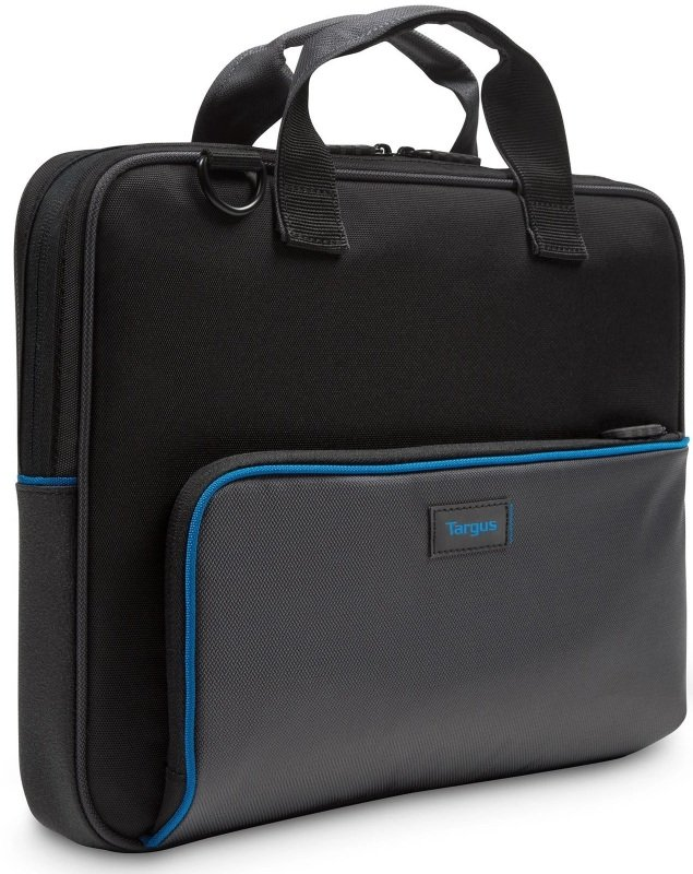 "Targus Education Dome Protection 13.3"" Laptop Briefcase Black / Grey"