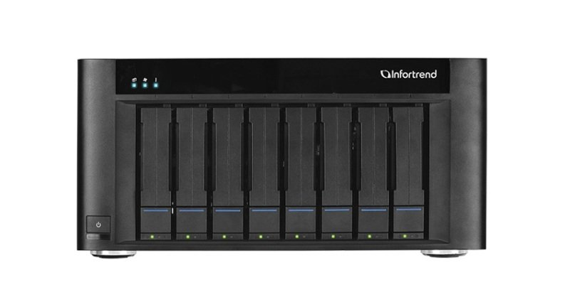 Infortrend EonStor GSe Pro 108 96TB (8 x 12TB SGT EXOS) 8 Bay NAS