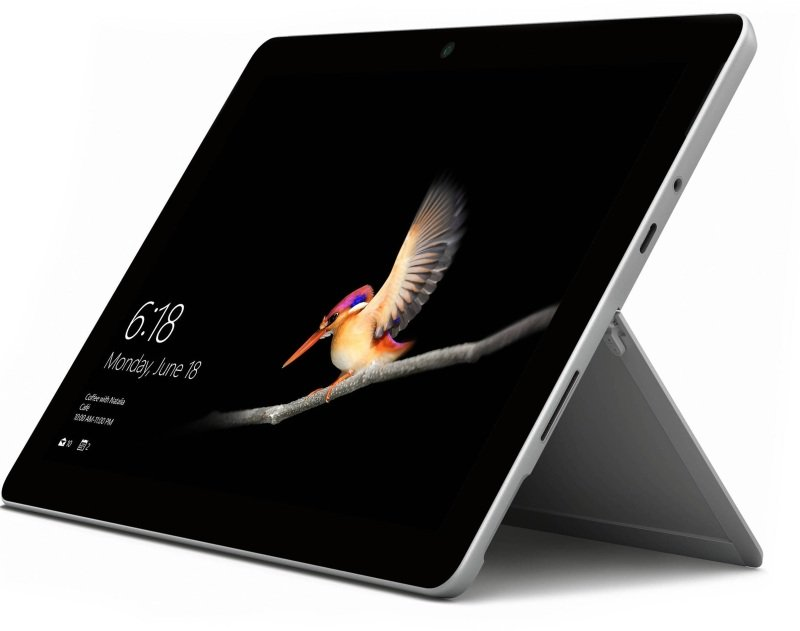 "Microsoft Surface Go Intel Pentium 8GB 256GB eMMC 10"" Windows 10 Pro with 4G LTE - Platinum"