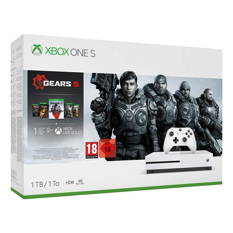 Xbox One S Gears 5 Bundle
