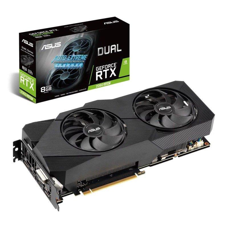 ASUS GeForce RTX 2060 SUPER 8GB DUAL EVO Graphics Card