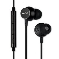 Veho Z-3 In-Ear Headphones Remote Control - Black