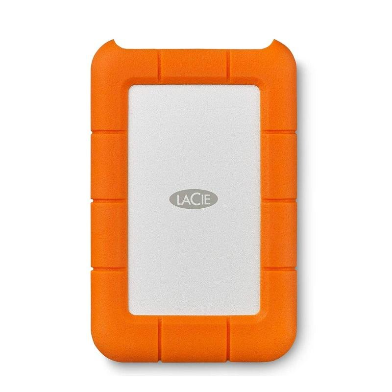 Image of Lacie STFR4000800 4TB Rugged USB-C Portable Hard Drive