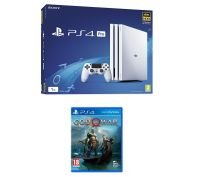 Sony 1TB White PS4 Pro with God of War