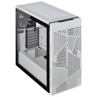 CORSAIR 275R Airflow Tempered Glass Mid-Tower Gaming Case White