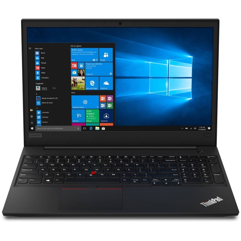 "Lenovo ThinkPad E595 Ryzen 5 8GB 256GB SSD 15.6"" Win10 Pro Laptop"