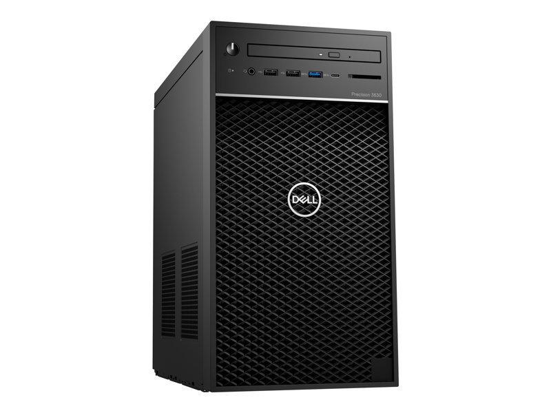 Dell Precision 3630 MT Core i5 8GB 1TB HDD Win10 Pro Tower Workstation