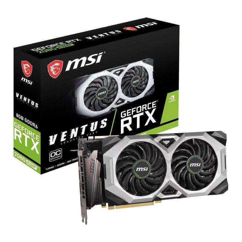 MSI GeForce RTX 2080 SUPER VENTUS XS OC 8GB Graphics Card