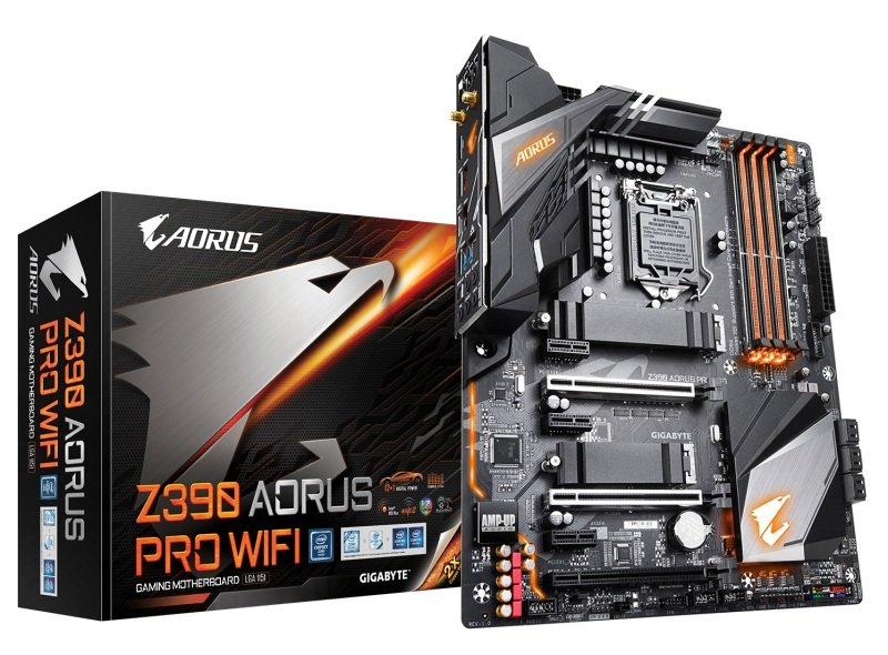 EXDISPLAY Gigabyte Z390 AORUS PRO WIFI LGA 1151 DDR4 ATX Motherboard