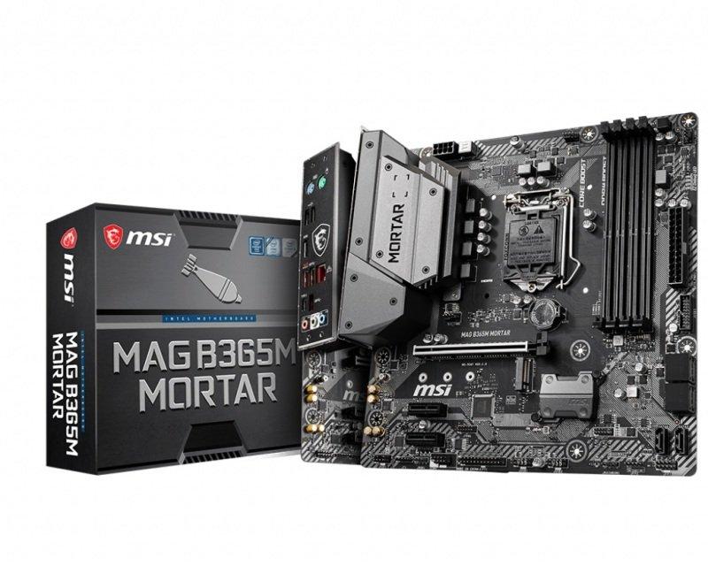 MSI MAG B365M MORTAR mATX Motherboard