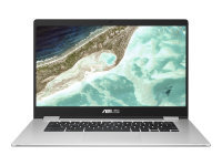 ASUS Chromebook C523NA A20101 - Pentium N4200 / 1.1 GHz - Chrome OS - 8 GB RAM - 64 GB eMMC - 15.6 touchscreen 1920 x 1080 (Full HD) - HD Graphics 500 - 802.11ac - silver (top), black (LCD cover)