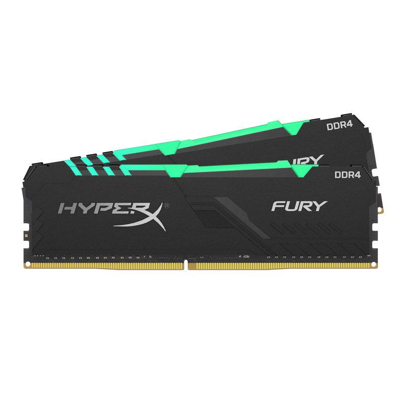 Kingston HyperX FURY RGB 16GB (2x 8GB) 3000MHz DDR4 RAM
