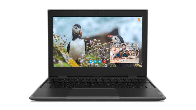"Lenovo 100e Gen 2 Intel Celeron 4GB 128GB eMMC 11.6"" Win10 Pro Winbook (Academic Only)"