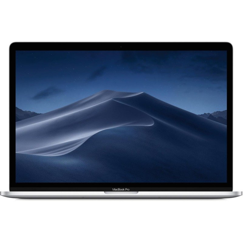"Apple MacBook Pro with Touch Bar Core i7 16GB 256GB SSD 15.4"" Laptop - Silver (2019)"