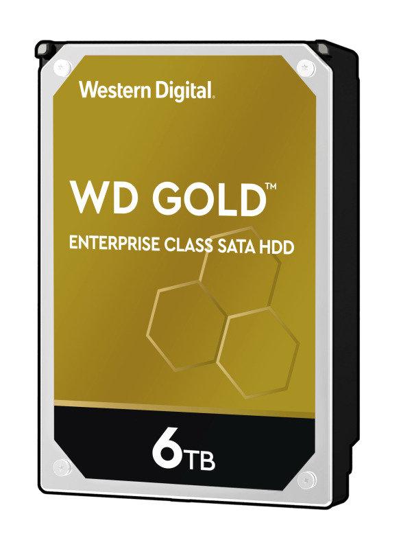 Image of WD Gold 6TB hard Drive SATA 6Gbs