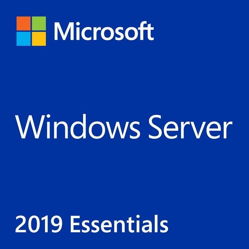Microsoft Windows Server 2019 Essentials 1-2 CPU 64Bit DVD SB / OEM, English