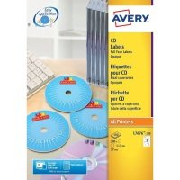AVERY CD DVD LBL FACE PK25 L7676