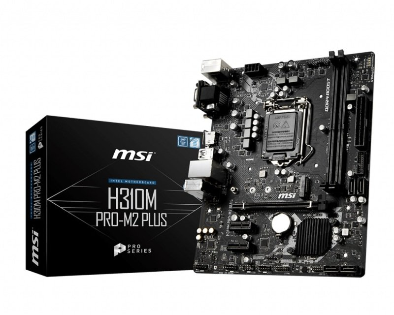 MSI H310M PRO-M2 PLUS mATX Motherboard