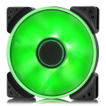 Fractal Design 120mm Green LED Prisma SL-12 3-pin DC PC Cooling Fan