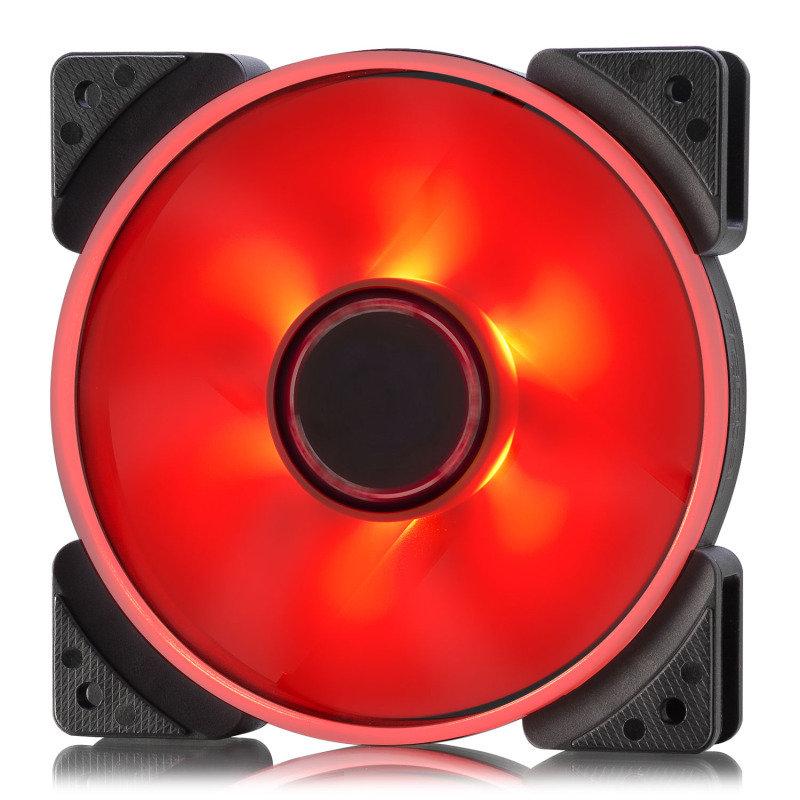 Fractal Design 120mm Red LED Prisma SL-12 3-pin DC PC Cooling Fan