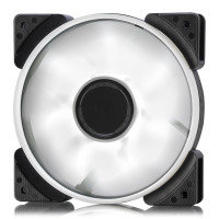 Fractal Design 120mm White LED Prisma SL-12 3-pin DC PC Cooling Fan