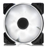 Fractal Design 140mm White LED Prisma SL-14 3-pin DC PC Cooling Fan