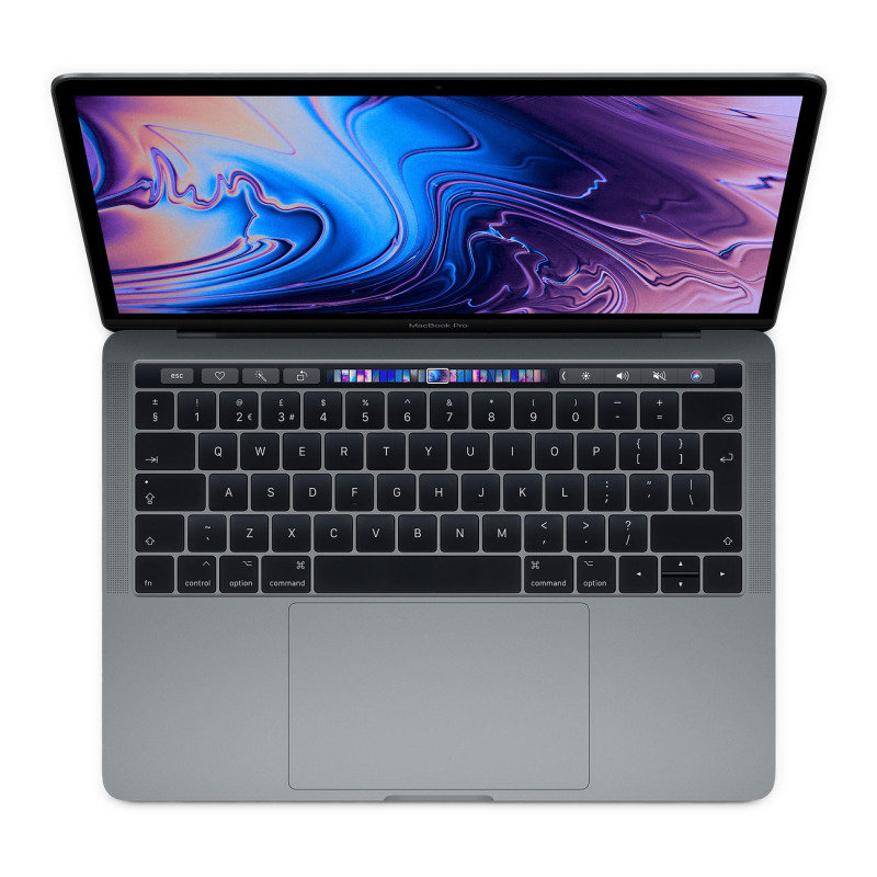 "Image of Apple MacBook Pro (2019) with Touchbar, Intel Core i5 quad-core 1.4GHz, 8GB RAM, 128GB SSD, 13.3"" 2560x1600, Intel Iris plus, WIFI, Bluetooth, Webcam, Apple OS - Space Grey"