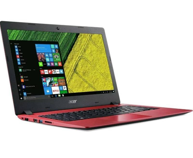 """Acer Aspire 1 Intel Celeron N3350 4GB 32GB eMMC 14"""" Win10 Home Cloudbook With Office 365 Personal"""