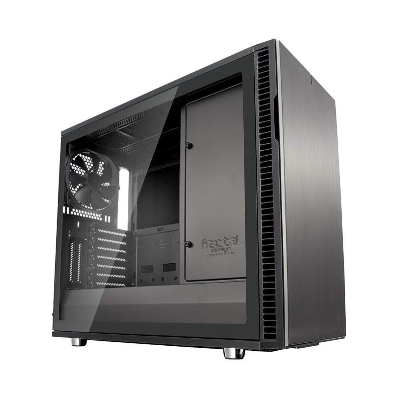 Image of Case Define R6 Gunmetal Tg Usb-c