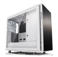 Fractal Define R6 White Tempered Glass USB-C Midi PC Gaming Case