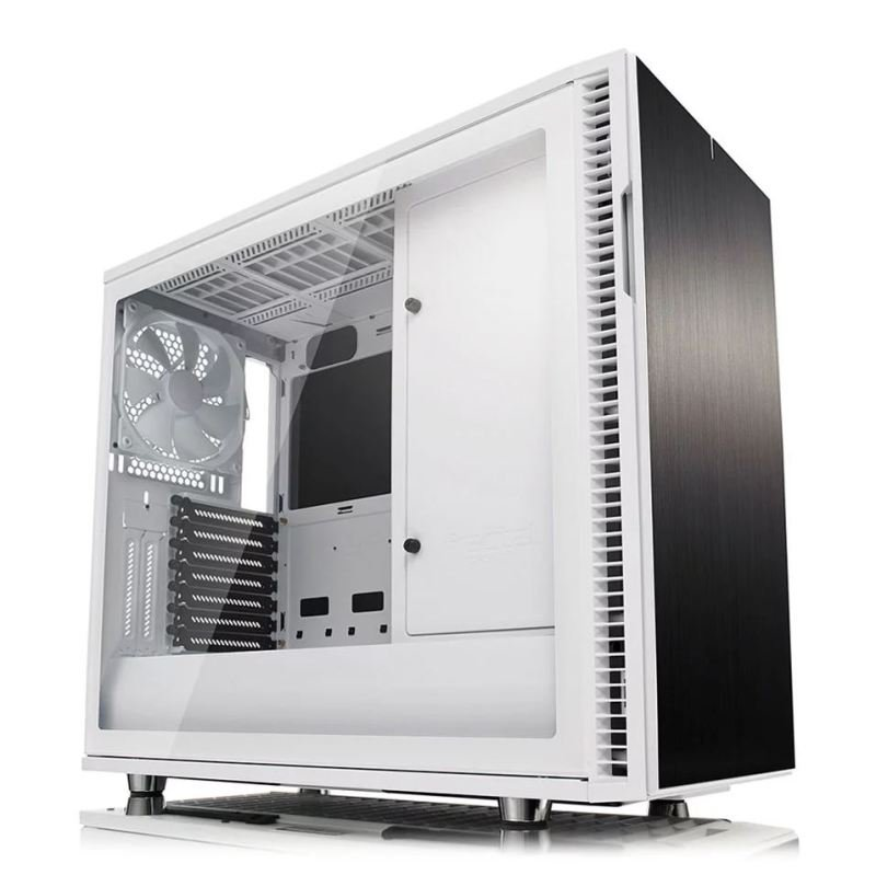 Image of Case Define R6 White Tg Usb-c
