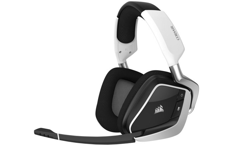 CORSAIR VOID RGB ELITE Wireless Gaming Headset - White