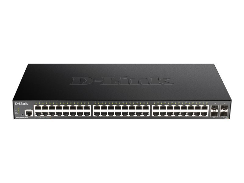 D-Link DGS-1250-52X 52-Port 10-Gigabit Smart Managed Switch