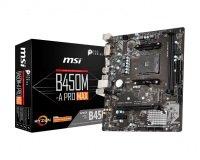 MSI AMD B450M-A PRO MAX AM4 mATX Motherboard