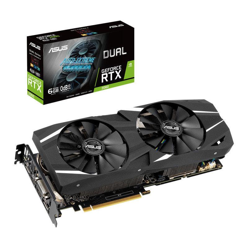 ASUS GeForce RTX 2060 DUAL Advanced 6GB Graphics Card