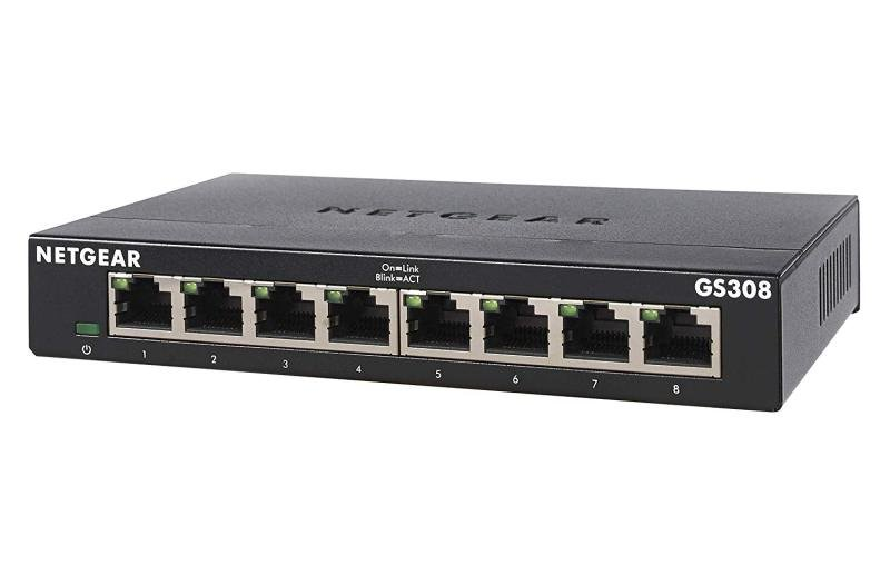 NETGEAR GS308 V3 8 Ports Unmanaged Switch